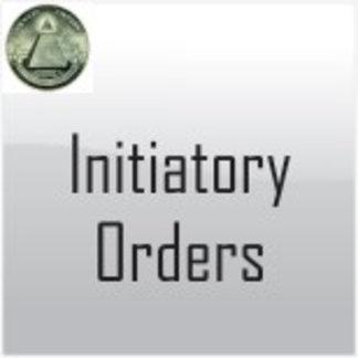 Initiatory Orders