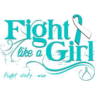 Cervical Cancer Fight Like A Girl Elegant