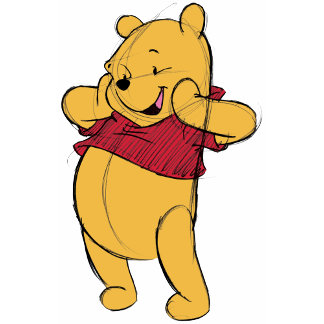 Sketch Winnie the Pooh