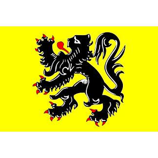 Flanders, Belgium flag