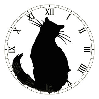 cat clocks