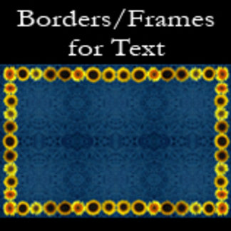 Borders/Frames for Text