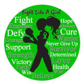 Cerebral Palsy Fight Like A Girl Collage