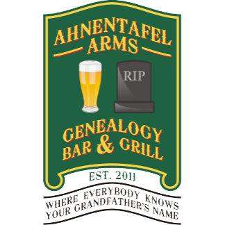 Ahnentafel Arms Genealogy Bar & Grill