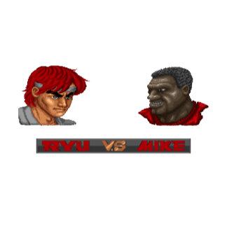 Ryu Vs Mike