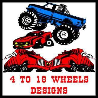 4 to 18 Wheels