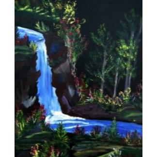 Moon Lit Falls