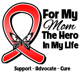 Red Ribbon For My Hero My Mom