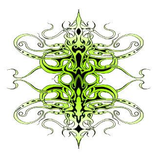Empire Tribal Tattoo - green