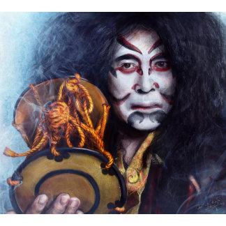 Kabuki Drummer