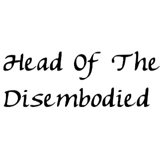 Head of Disembodied