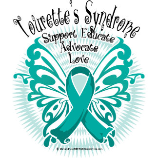 Tourette's Syndrome Butterfly 3
