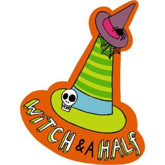 Halloween Witch & a Half Hat