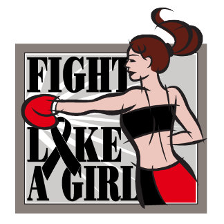 Melanoma Fight Like A Girl Boxer