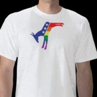 Gay Pride Dem Donkey