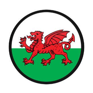 Welsh quality Flag Circle