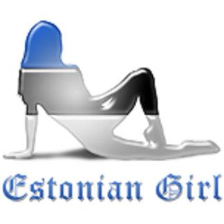 Estonian Girl Flags