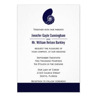 Navy Blue Nautilus Wedding Products