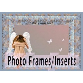 Photo-Card Holders/Inserts/Card Templates