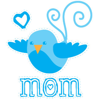 Mom blue birdy