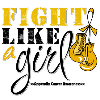 Appendix Cancer Awareness Fight Like a Girl
