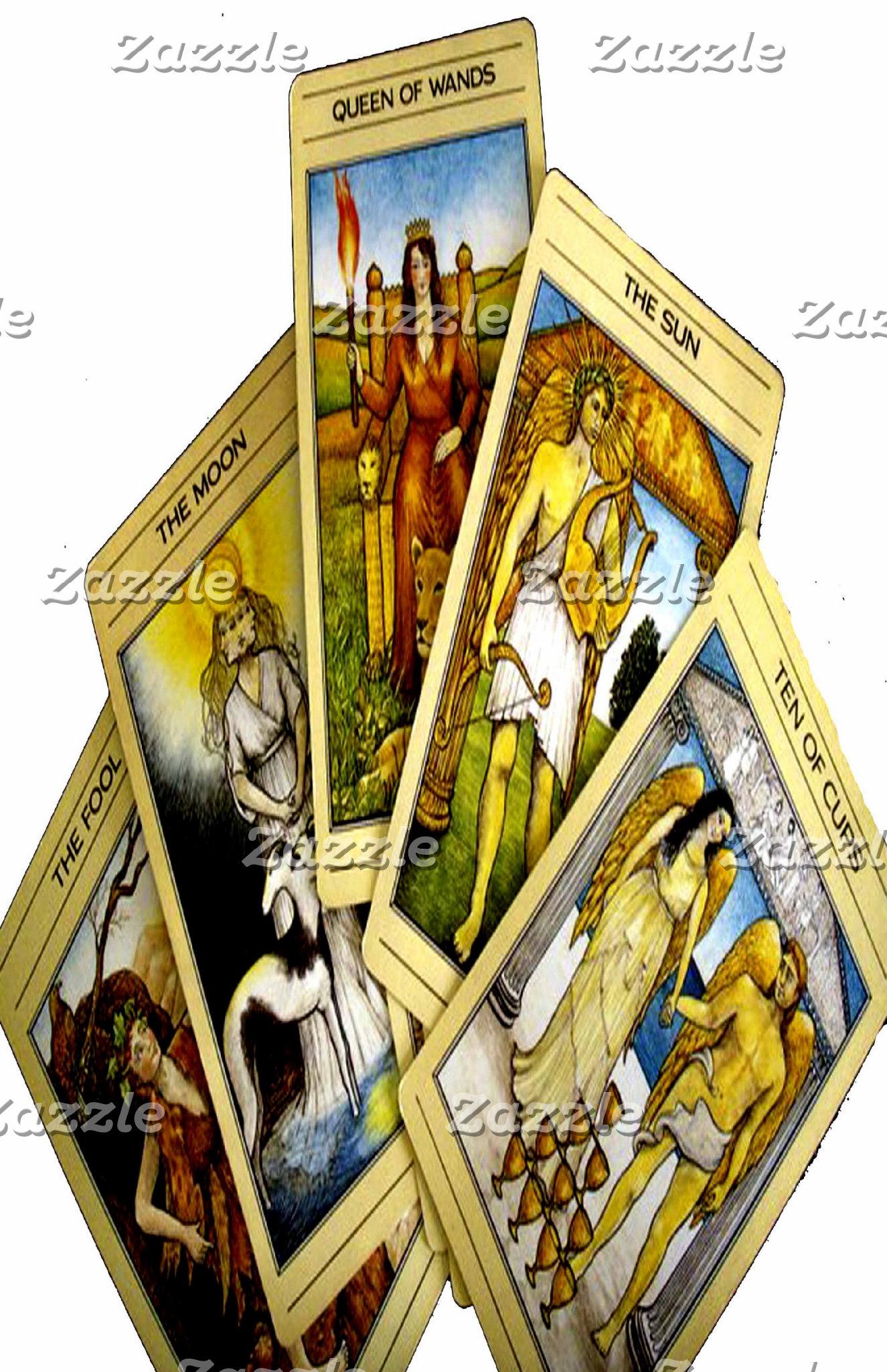 TAROT CARDS DESIGNS BY LIZ LOZ