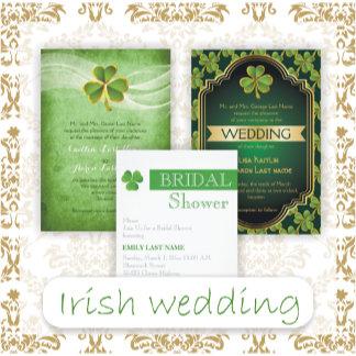 St. Patrick's Day Irish wedding