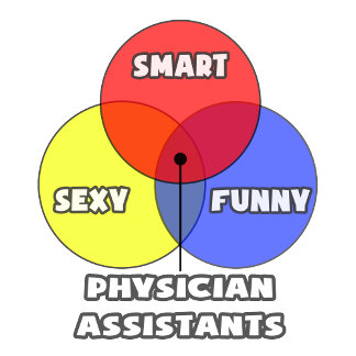 Venn Diagram .. Physician Assistants