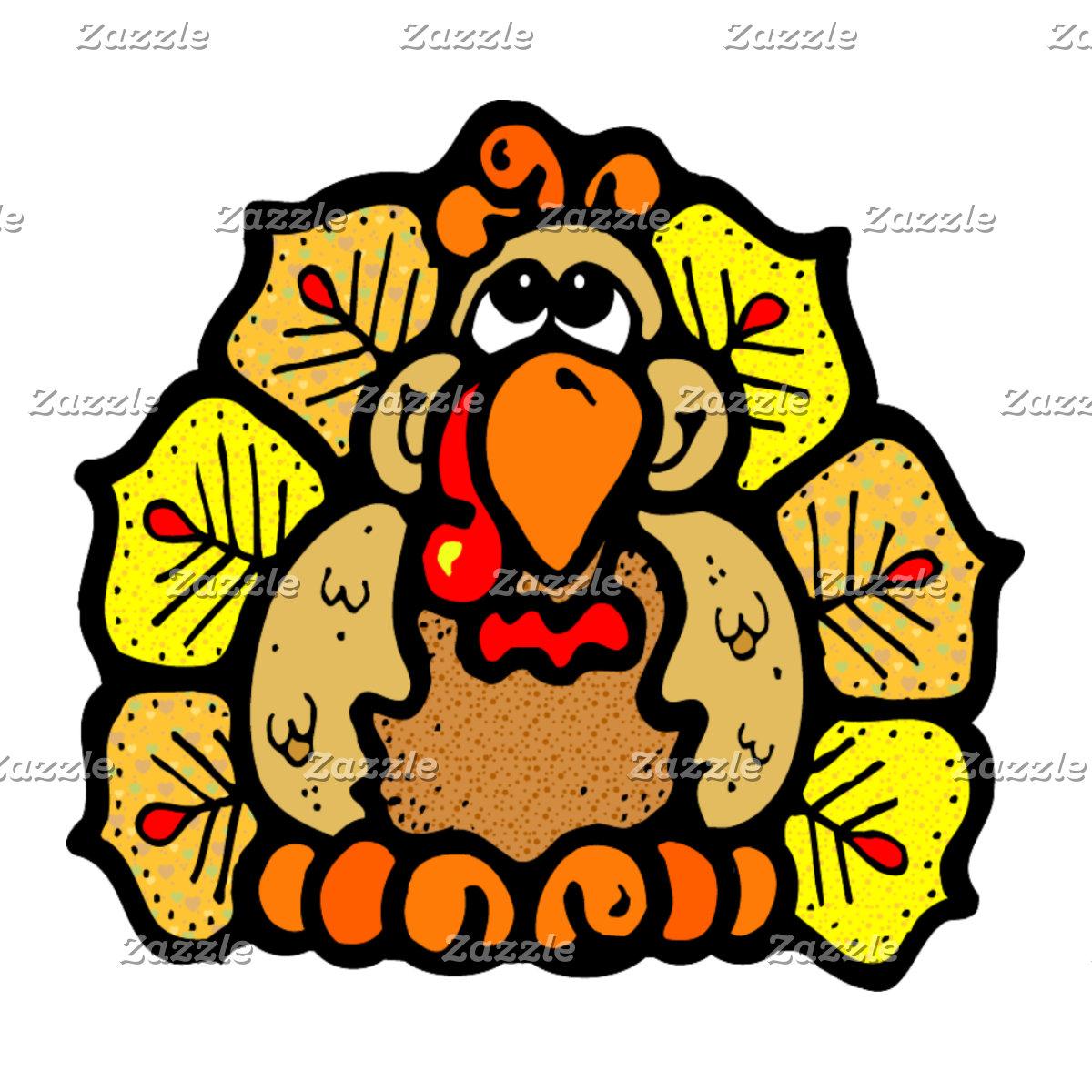 Fall Thanksgiving Turkey