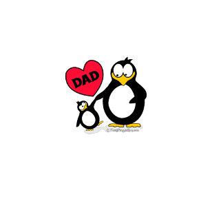 Penguin Heart Dad