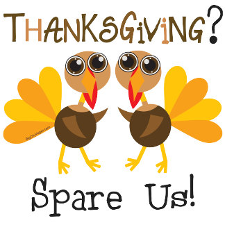 Spare a Turkey Thanksgiving T-shirts and Gifts