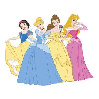 Four Disney Princesses