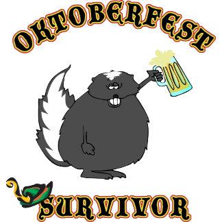 Funny Oktoberfest Survivor T-Shirt Gifts