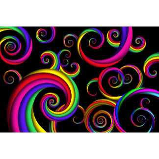 Abstract - Spirals - Inside a clown