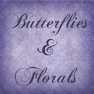 Butterflies & florals