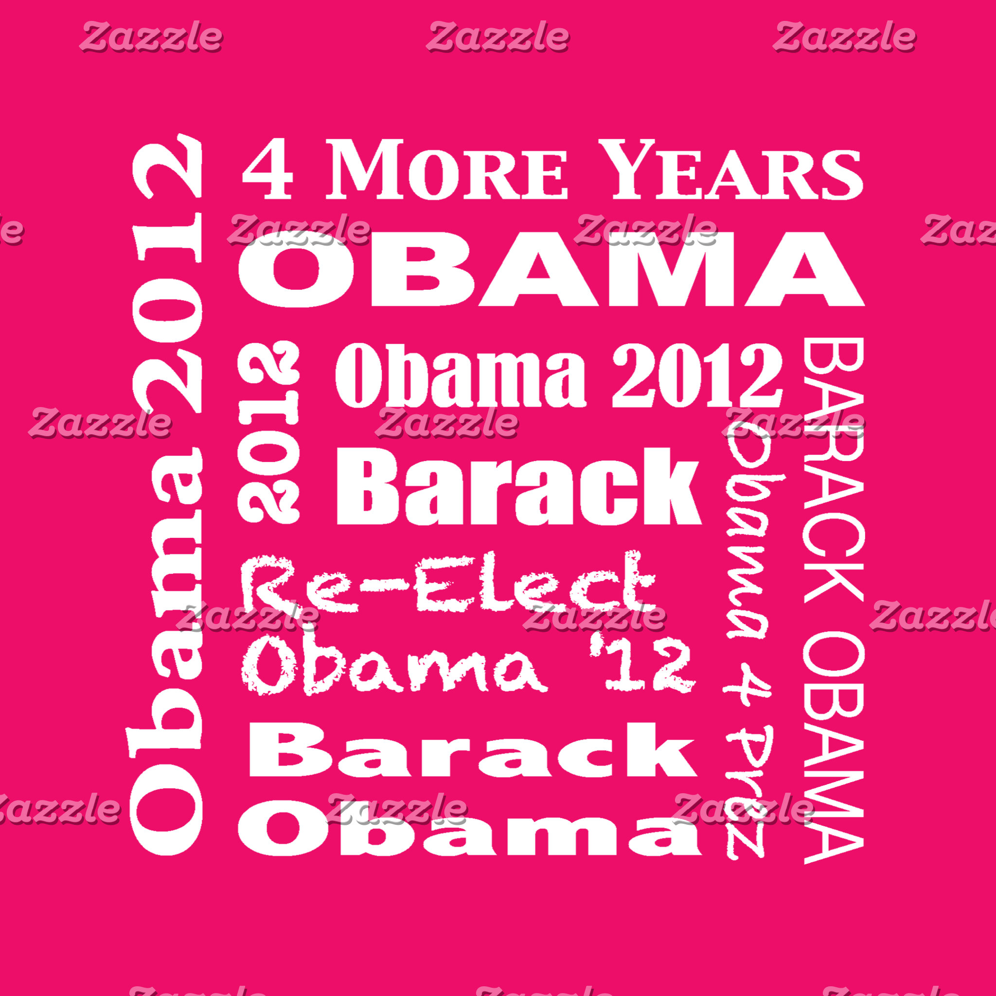 Obama 2012 Block