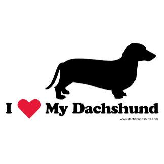 I Heart My Dachshund