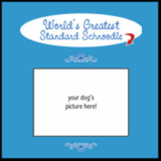 Personalized World's Greatest Standard Schnoodle