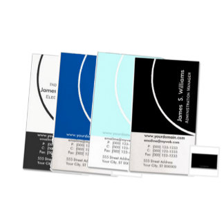 Edgy Modern Business Cards