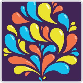 19 - Funky Colorful Swirls