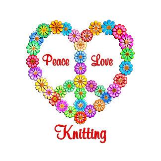 Knitting Peace Love