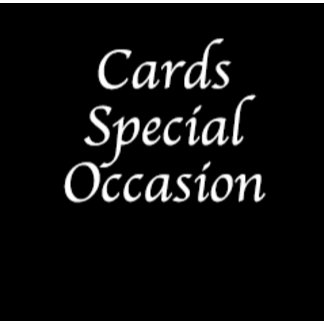 Cards-Special Occasion