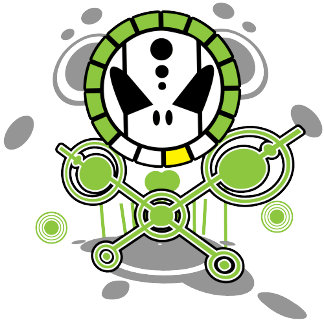 Crop Circle Skull