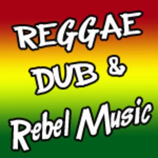 Reggae t shirts | Rebel music tshirts | Dub shirts