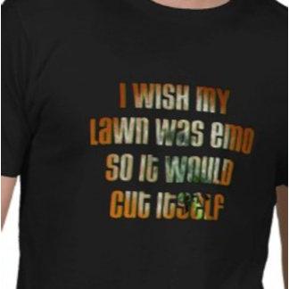 I wish my lawn was emo