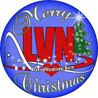CHRISTMAS MERRY LVN LICENSED VOCATIONAL NURSE