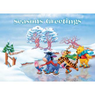 Seasons Greetings from Winnie the Pooh Crew