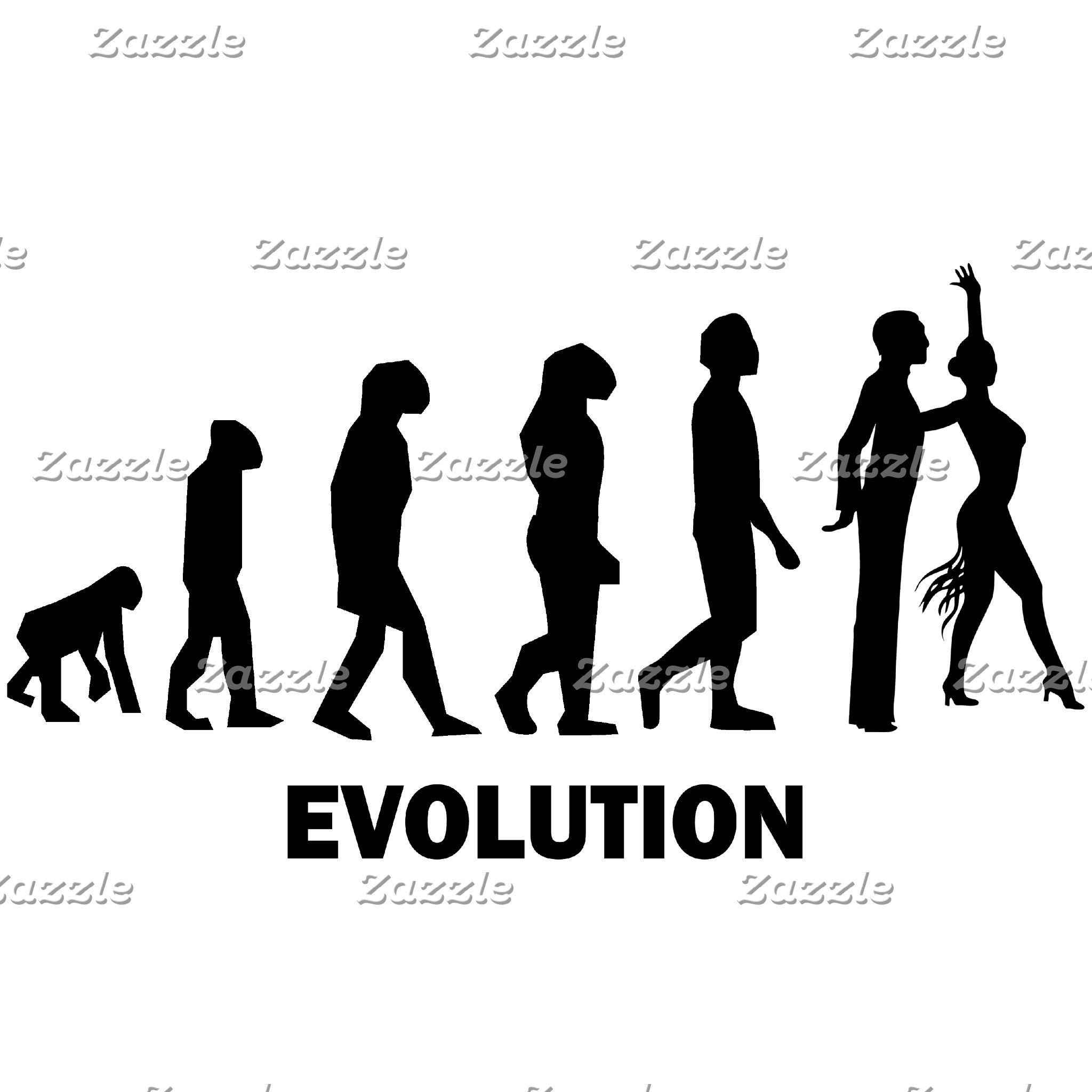 Evolution ballroom dancing