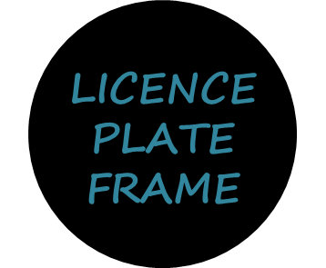 Licence Plate & Frame