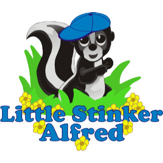 Little Stinker Alfred Personalized
